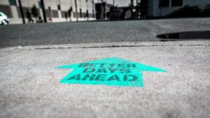 better days ahead arrow